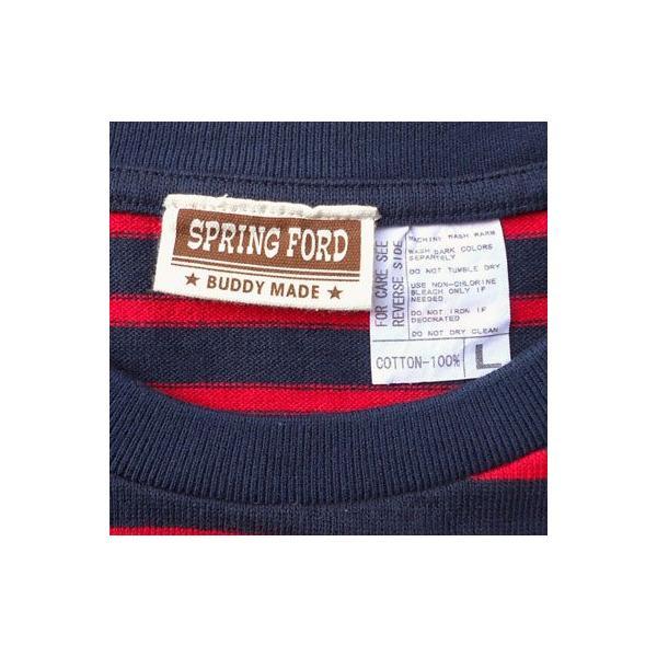 ★SPRINGFORD★BUDDY オリジナル 3/4スリーブ ボーダーTシャツ アメカジ 七分袖|buddy-us-clothing|05