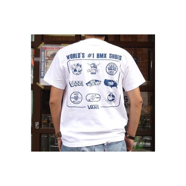 バンズ VANS BUDDY 別注 プリントTシャツ #6 NEW YORK BMX ERA ニューヨーク ヴァンズ OLD BMX SCREAMIN'WHEELS|buddy-us-clothing|02