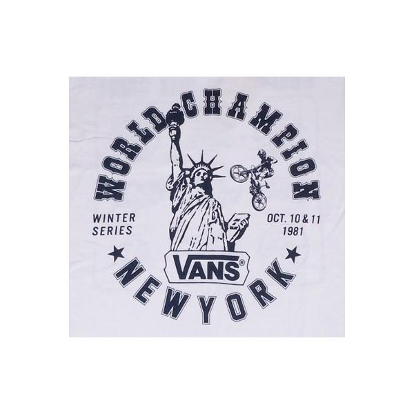 バンズ VANS BUDDY 別注 プリントTシャツ #6 NEW YORK BMX ERA ニューヨーク ヴァンズ OLD BMX SCREAMIN'WHEELS|buddy-us-clothing|03