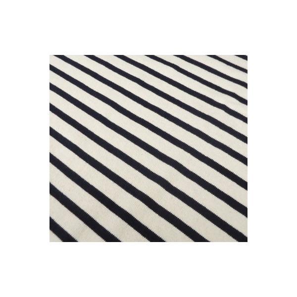 バディ SPRINGFORD BUDDY オリジナル 3/4スリーブ ボーダーTシャツ(オフホワイト×ネイビー)アメカジ 七分袖|buddy-us-clothing|06