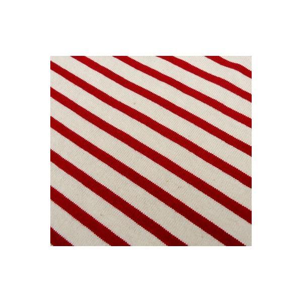 バディ SPRINGFORD BUDDY オリジナル 3/4スリーブ ボーダーTシャツ(アイボリー×レッド)アメカジ 七分袖|buddy-us-clothing|06
