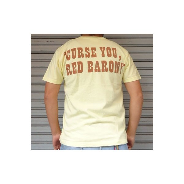 BUDDY 別注 PEANUTS スヌーピーTシャツ(RED BARON)/SNOOPY/ピーナッツ Schulz|buddy-us-clothing|02