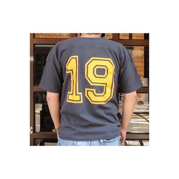 別注 チャンピオン Champion BUDDY別注 ショートスリーブ フットボールシャツ SANDIEGO #19 アメカジ S/S ランタグ 半袖|buddy-us-clothing|02