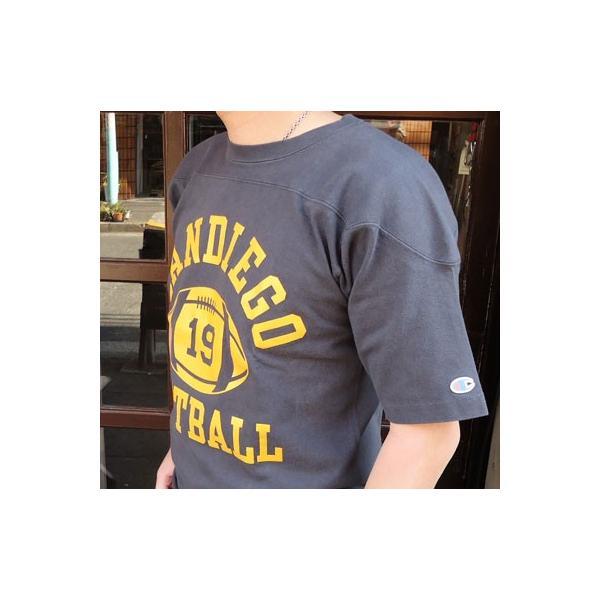 別注 チャンピオン Champion BUDDY別注 ショートスリーブ フットボールシャツ SANDIEGO #19 アメカジ S/S ランタグ 半袖|buddy-us-clothing|03