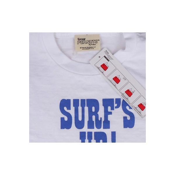 スヌーピーTシャツ PEANUTS BUDDY 別注(SURF'S UP) SNOOPY ピーナッツ サーフ サーフィン|buddy-us-clothing|03