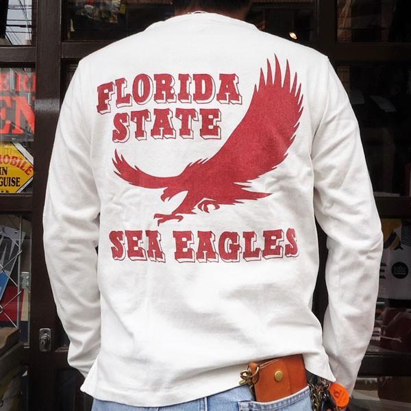 チャンピオン Champion BUDDY 別注 ロングスリーブTシャツ(FLORIDA STATE SEA EAGLES) ロチェスター 長袖 Tシャツ ROCHESTER LONG SLEEVE|buddy-us-clothing|02
