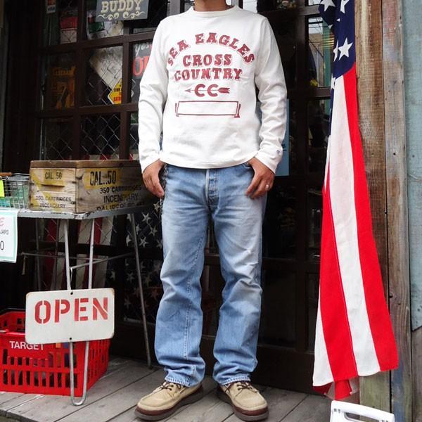 チャンピオン Champion BUDDY 別注 ロングスリーブTシャツ(FLORIDA STATE SEA EAGLES) ロチェスター 長袖 Tシャツ ROCHESTER LONG SLEEVE|buddy-us-clothing|05