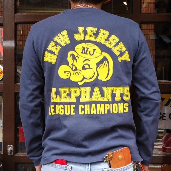 チャンピオン Champion BUDDY 別注 ロングスリーブTシャツ(NEW JERSEY ELEPHANTS) ロチェスター 長袖 Tシャツ ROCHESTER LONG SLEEVE ニュージャージー|buddy-us-clothing|02