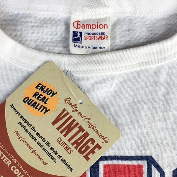 別注 チャンピオン Champion ロチェスター フットボール ラインTシャツ NYC 56 BUDDY別注 17SS Rochester (C3-K311) アメカジ オフホワイト ニューヨーク|buddy-us-clothing|04