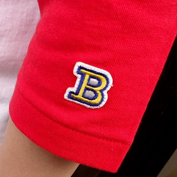 ラッセルアスレチック RUSSELL ATHLETIC ベースボールTシャツ BUDDY別注 (U.S.A.DRINKING TEAM) アメカジ メンズ BaseBall 七分袖|buddy-us-clothing|04