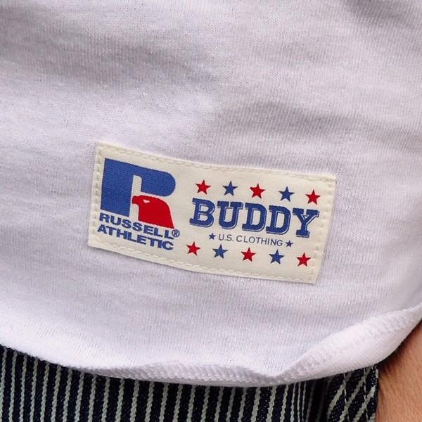 ラッセルアスレチック RUSSELL ATHLETIC ベースボールTシャツ BUDDY別注 (U.S.A.DRINKING TEAM) アメカジ メンズ BaseBall 七分袖|buddy-us-clothing|05