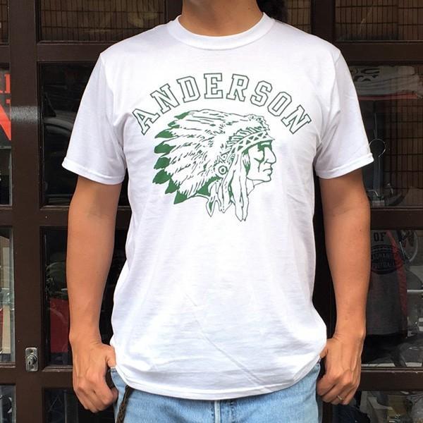 フルーツオブザルーム FRUIT OF THE LOOM×BUDDY ANDERSON INDIAN T-Shirt アメカジ ネイティブ インディアン|buddy-us-clothing