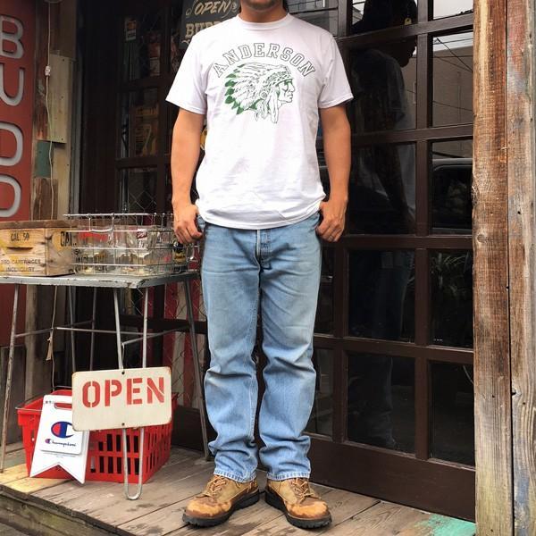 フルーツオブザルーム FRUIT OF THE LOOM×BUDDY ANDERSON INDIAN T-Shirt アメカジ ネイティブ インディアン|buddy-us-clothing|04