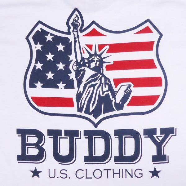 BUDDYオリジナル Indian & Statue of Liberty Tシャツ アメカジ インディアン 自由の女神 ニューヨーク GILDAN|buddy-us-clothing|05