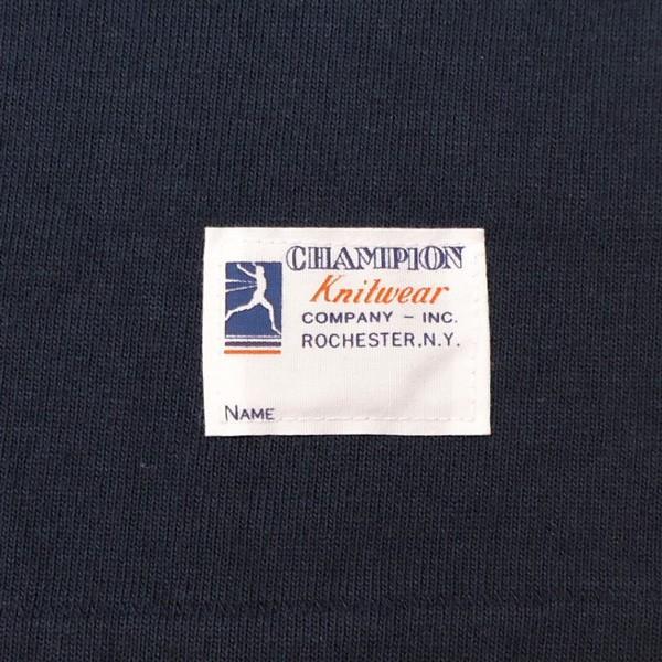 別注 チャンピオン フットボールシャツ Champion BUDDY別注 バディ 3/4スリーブ 七分袖 SOUTH CAROLINA WARRIORS アメカジ サウスキャロライナ ウォリアーズ|buddy-us-clothing|05