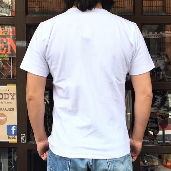 別注 チャンピオン リバースウィーブ Tシャツ 18SS BUDDY別注 Champion REVERSE WEAVE Tシャツ C3-X301  白 ホワイト 半袖 NORTH CAROLINA BASKET BALL 23|buddy-us-clothing|02