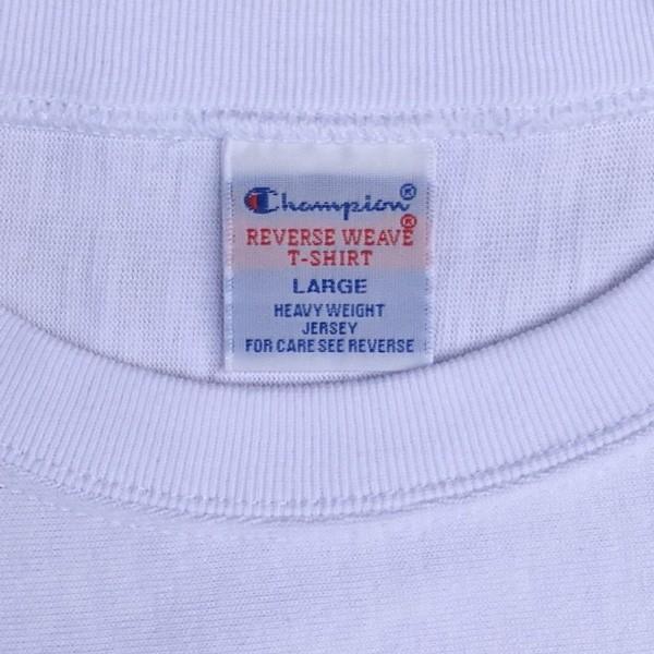 別注 チャンピオン リバースウィーブ Tシャツ 18SS BUDDY別注 Champion REVERSE WEAVE Tシャツ C3-X301  白 ホワイト 半袖 NORTH CAROLINA BASKET BALL 23|buddy-us-clothing|06