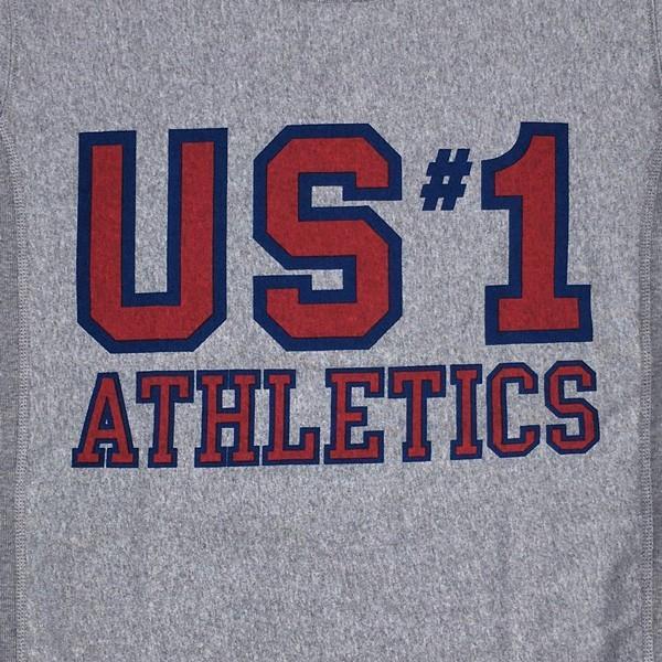 別注 チャンピオン リバースウィーブ Tシャツ 18SS BUDDY別注 Champion REVERSE WEAVE Tシャツ C3-X301 オックスフォードグレー 半袖 US #1 ATHLETICS|buddy-us-clothing|05