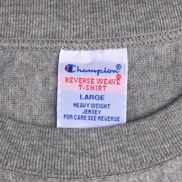 別注 チャンピオン リバースウィーブ Tシャツ 18SS BUDDY別注 Champion REVERSE WEAVE Tシャツ C3-X301 オックスフォードグレー 半袖 US #1 ATHLETICS|buddy-us-clothing|06