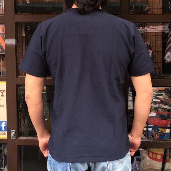 別注 チャンピオン リバースウィーブ Tシャツ 18SS BUDDY別注 Champion REVERSE WEAVE Tシャツ C3-X301 ネイビー NAVY 半袖 1976 CALIFORNIA FOOTBALL|buddy-us-clothing|02