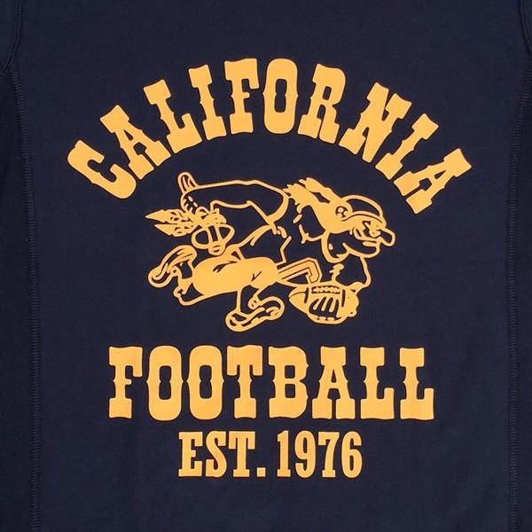 別注 チャンピオン リバースウィーブ Tシャツ 18SS BUDDY別注 Champion REVERSE WEAVE Tシャツ C3-X301 ネイビー NAVY 半袖 1976 CALIFORNIA FOOTBALL|buddy-us-clothing|05