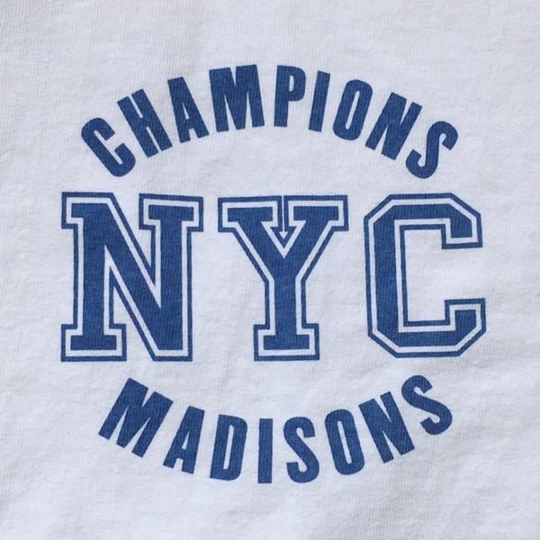 別注 チャンピオン Champion アメリカ製 白 Tシャツ T1011 MADE IN U.S.A. Tシャツ BUDDY別注 NYC MADISONS ティーテンイレブン ホワイト WHITE アメカジ|buddy-us-clothing|04