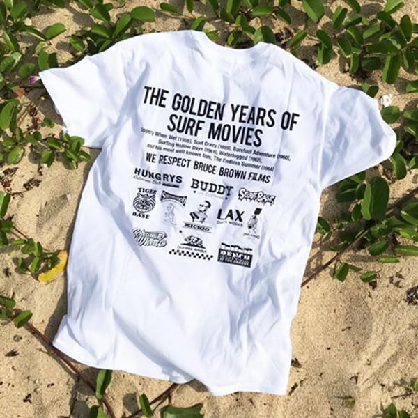 ad6af4d04cf ... エンドレスサマー BUDDY 別注 オリジナル コラボTシャツ BRUCE BROWN FILMS The Endless Summer  ブルース ブラウン ...