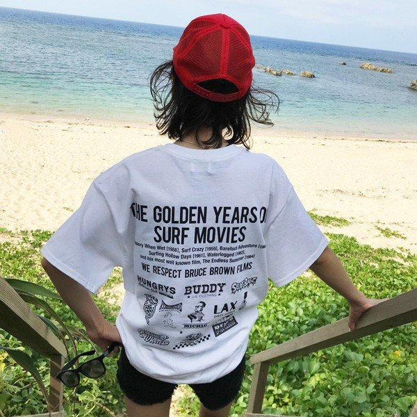 f2bcf5e8203 ... エンドレスサマー BUDDY 別注 オリジナル コラボTシャツ BRUCE BROWN FILMS The Endless Summer  ブルース ブラウン