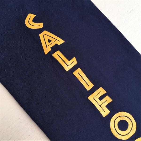 ロンT ロングスリーブTシャツ BUDDYオリジナル CALIFORNIA EAGLES GILDAN カリフォルニア イーグルス USA ネイビー アメカジ 長袖 ロングTシャツ|buddy-us-clothing|06