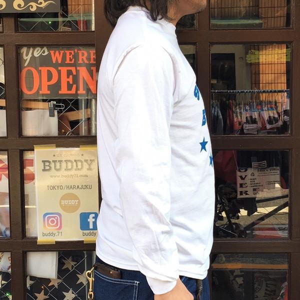 ロンT ロングスリーブTシャツ BUDDY オリジナル SCOTTSDALE BULLDOGS GILDAN ブルドッグス USA ホワイト アメカジ 長袖 ロングTシャツ|buddy-us-clothing|04