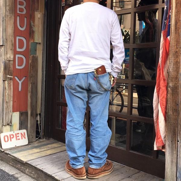 ロンT ロングスリーブTシャツ BUDDY オリジナル SCOTTSDALE BULLDOGS GILDAN ブルドッグス USA ホワイト アメカジ 長袖 ロングTシャツ|buddy-us-clothing|08