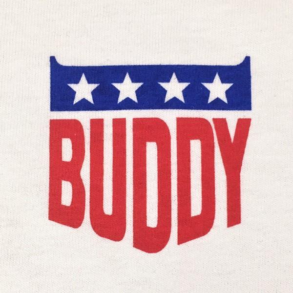 アメカジ BUDDY オリジナル ワンポイント ホワイト Tシャツ STARS & STRIPES GILDAN USA アメリカ 星条旗柄 半袖 buddy-us-clothing 04