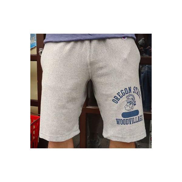 BUDDY別注 Championリバースウィーブショートパンツ(SPARTANS) buddy-us-clothing