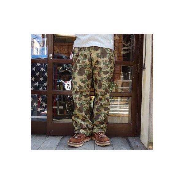 ★SPRINGFORD★BUDDY オリジナル ダック ベイカーパンツ (ハンターカモ)|buddy-us-clothing