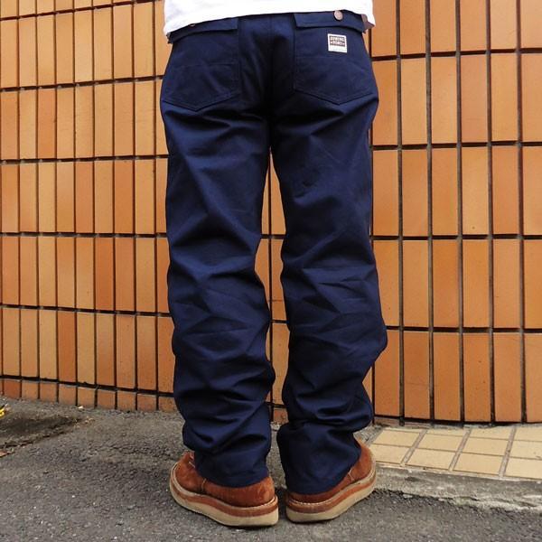 バディ BUDDY オリジナル  SPRINGFORD  ネイビー ダック ワークパンツ メンズ アメカジ WORK PANTS|buddy-us-clothing|02