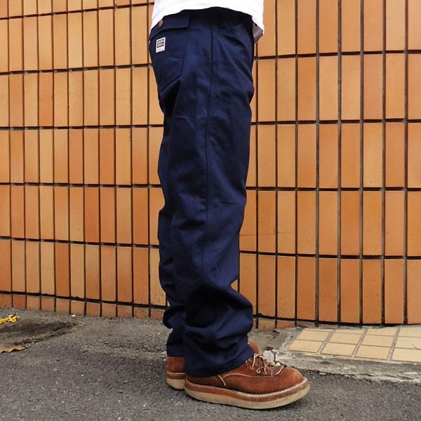 バディ BUDDY オリジナル  SPRINGFORD  ネイビー ダック ワークパンツ メンズ アメカジ WORK PANTS|buddy-us-clothing|03