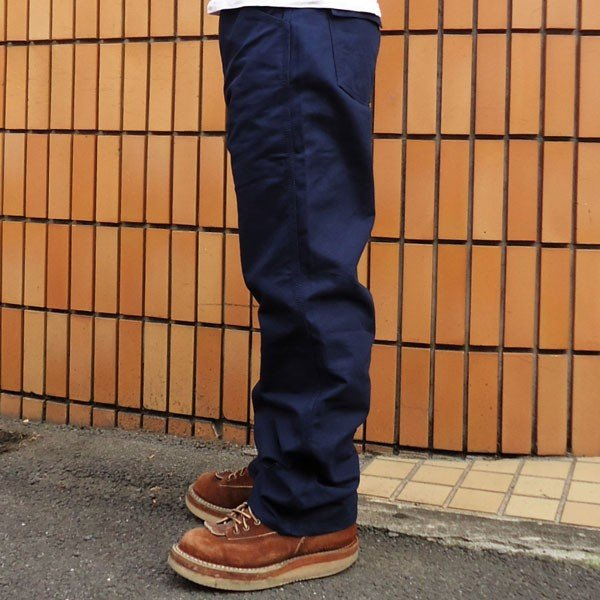 ワークパンツ バディ BUDDY オリジナル  SPRINGFORD  ネイビー ダック ワークパンツ メンズ アメカジ WORK PANTS|buddy-us-clothing|04