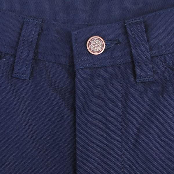 ワークパンツ バディ BUDDY オリジナル  SPRINGFORD  ネイビー ダック ワークパンツ メンズ アメカジ WORK PANTS|buddy-us-clothing|05