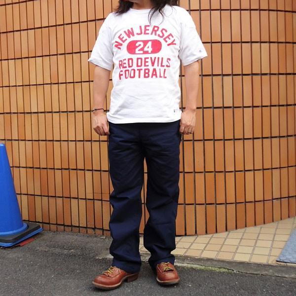 バディ BUDDY オリジナル  SPRINGFORD  ネイビー ダック ワークパンツ メンズ アメカジ WORK PANTS|buddy-us-clothing|06