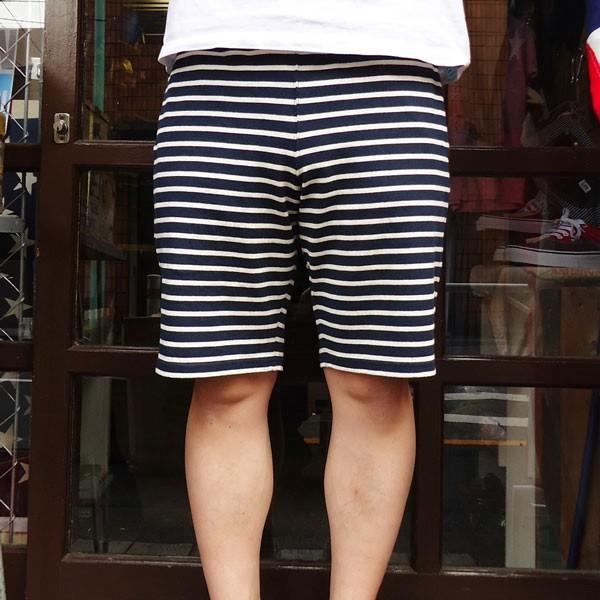 ショートパンツ ボーダー バディ BUDDY オリジナル SPRINGFORD ボーダーショートパンツ イージーパンツ 短パン アメカジ|buddy-us-clothing