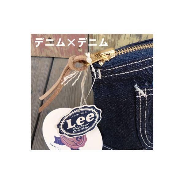 Lee OVERALL POUCH MINI/リー オーバーオール ポーチ ミニ/デニム・ヒッコリー|buddy-us-clothing|04