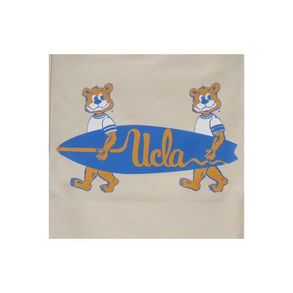 BUDDY 別注 UCLA(University of California, Los Angeles)トートバック ナチュラル(オフホワイト)/カリフォルニア大学ロサンゼルス校|buddy-us-clothing|02