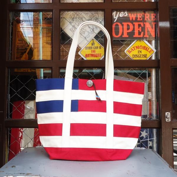 バトラーバーナーセイルズ アメリカンフラッグトートバッグ Butler Verner Sails アメカジ 星条旗|buddy-us-clothing