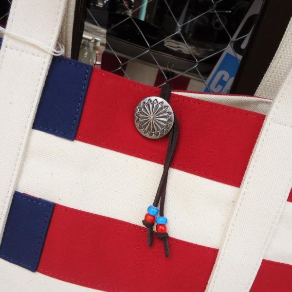 バトラーバーナーセイルズ アメリカンフラッグトートバッグ Butler Verner Sails アメカジ 星条旗|buddy-us-clothing|02