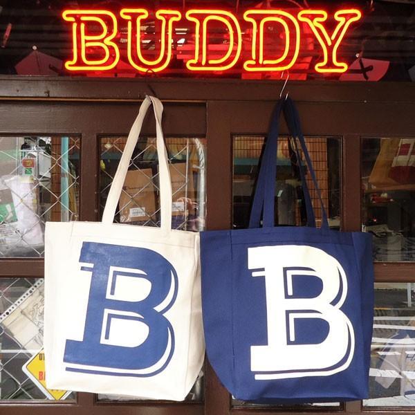 BUDDY オリジナル キャンバストートバッグ  B/ アメカジ エコバッグ|buddy-us-clothing