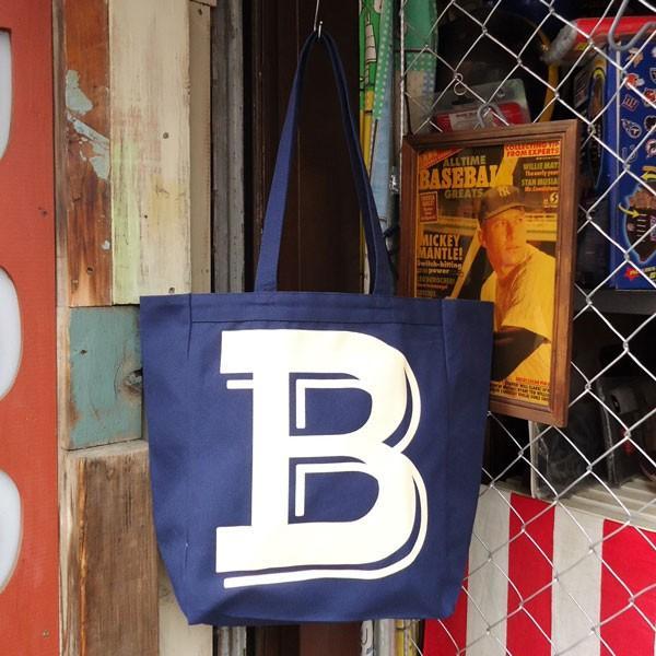 BUDDY オリジナル キャンバストートバッグ  B/ アメカジ エコバッグ|buddy-us-clothing|03