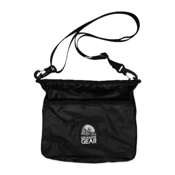 GRANITE GEAR HIKER SATCHEL BLACK グラナイトギア ハイカーサチェル ショルダーバッグ サコッシュ ポーチ ブラック buddy-us-clothing 02