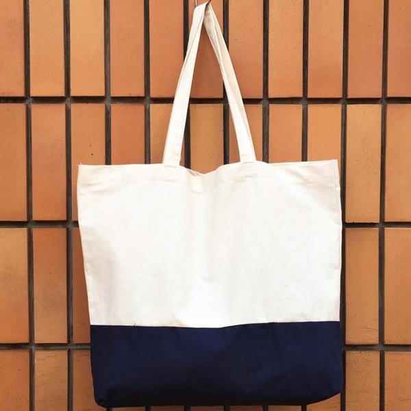 キャンバス ワッペン付 トートバッグ HAVE A NICE DAY DAY ビンテージワッペン USA CANVAS TOTE BAG アメカジ CANVAS SHOPPING BAG|buddy-us-clothing|06