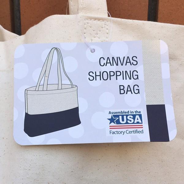 キャンバス ワッペン付 トートバッグ HAVE A NICE DAY DAY ビンテージワッペン USA CANVAS TOTE BAG アメカジ CANVAS SHOPPING BAG|buddy-us-clothing|07