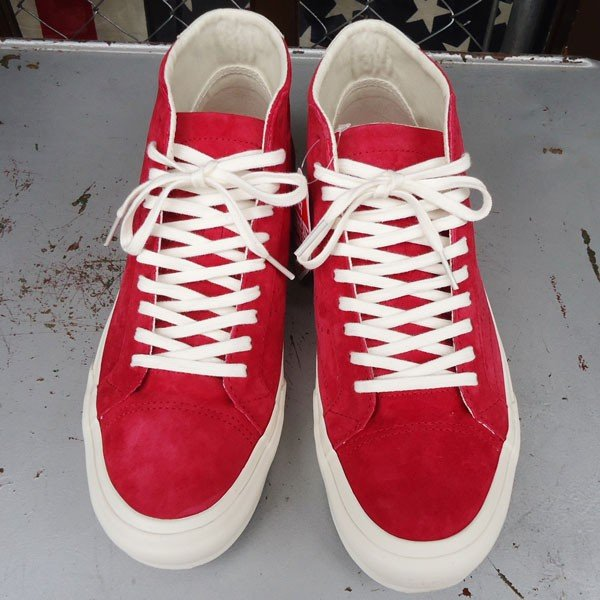 VANS Court Mid DX (Pig Suede)Chilli Pepper/USA企画 バンズ スエード ミッド メンズ USA 赤 RED レッド buddy-us-clothing 02